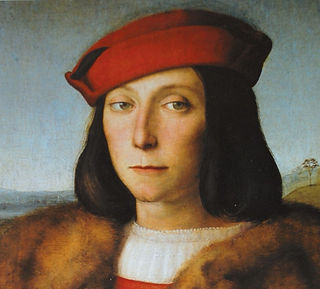 Portrait of the duke Francesco Maria I Della Rovere