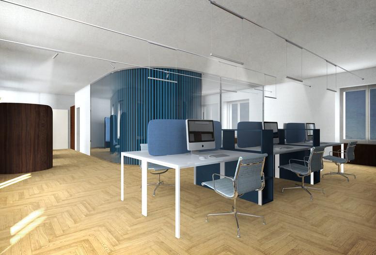 Uffici, postazioni open space