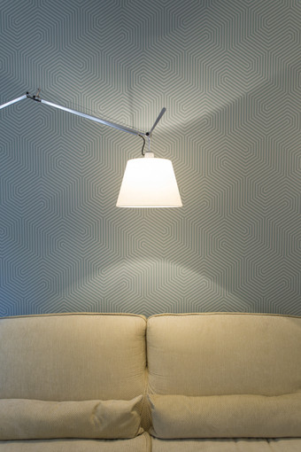 soggiorno, dettaglio dell'illuminazione