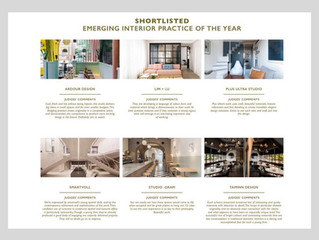 WIN Awards: shortlisted 'Emerging Interior Practice of 2017'