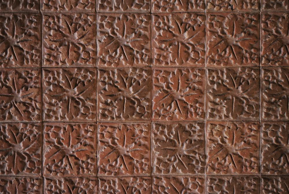 Villa Imperiale Pesaro, pavimenti in cotto disegnati da Girolamo Genga