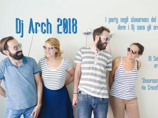 Eccoci! Pronti per il Dj Arch 2018