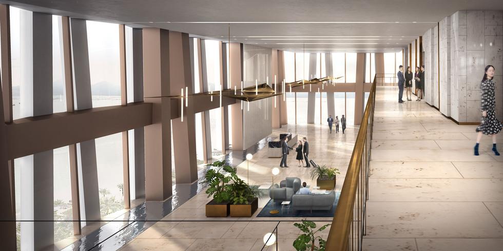 53rd floor lobby