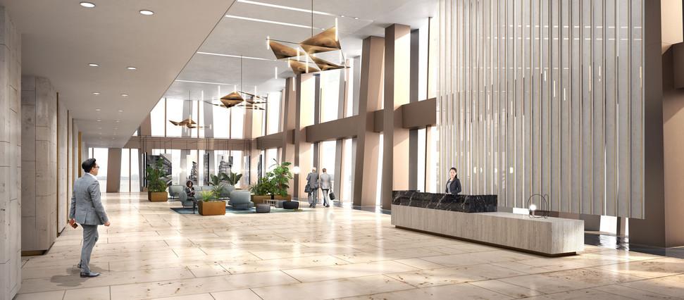 52nd floor lobby