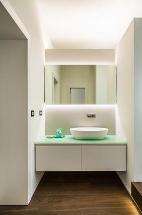 lavabo nella zona toilette