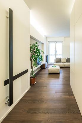 ingresso verso il soggiorno