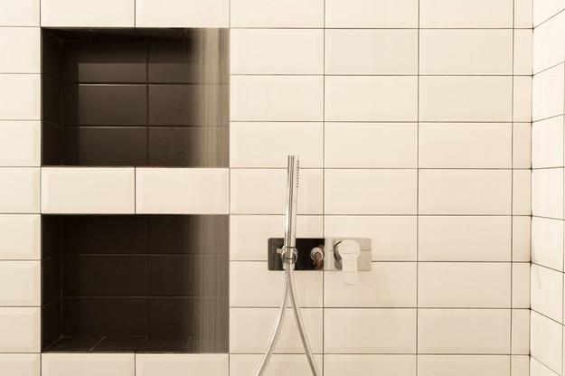 dettaglio della doccia