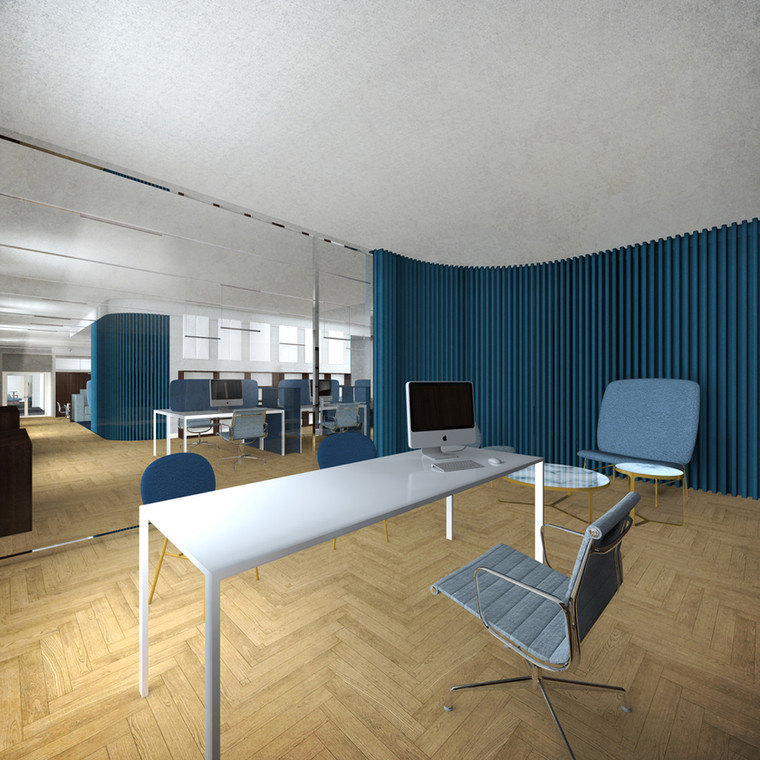 Ufficio responsabile e open space