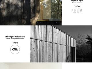 Public talk all'Accademia di Architettura di Mendrisio