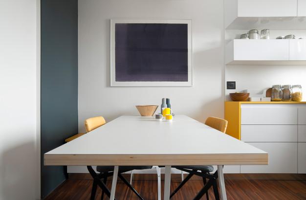 il tavolo della cucina