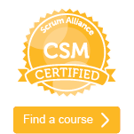 Join me for CSM course in Richardson, TX 3/22-23