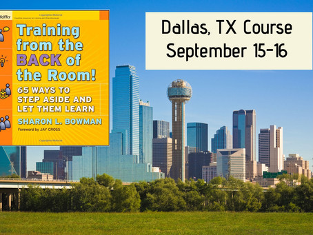 Additional spots opened for Dallas Class!