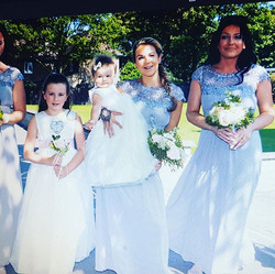 Another lovely wedding day, all dresses