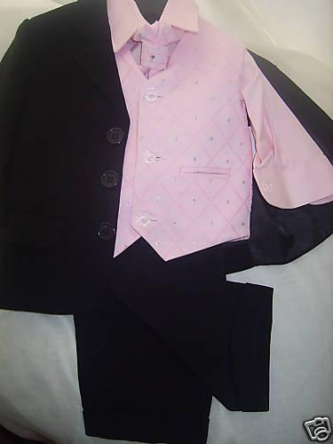 pink page boy, 5 piece
