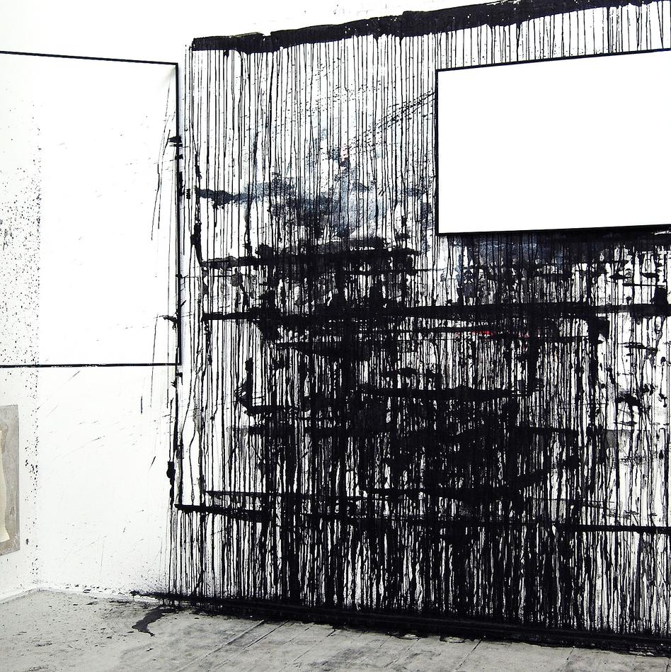 In situ  Contextualization of the studio wall NUA (Norwich - UK)