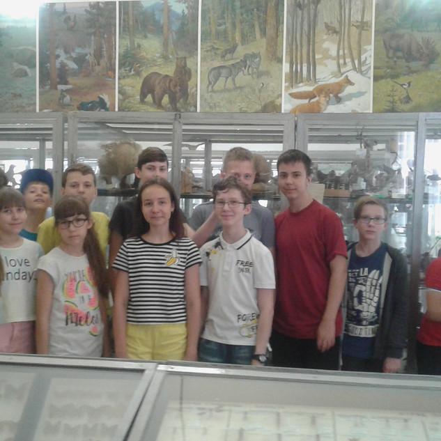 Экскурсия в зоомузей ВГСПУ