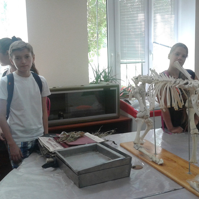На кафедре биологии ВолГУ
