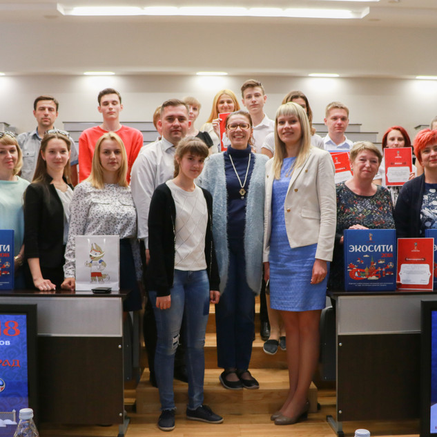 Бузин Александр призер первого городского конкурса Экосити