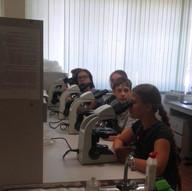 В лаборатории ВолГУ