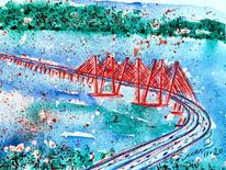 Red Tappan Zee Bridge