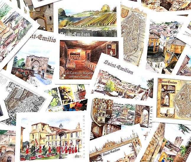 Postcards Saint-Emilion