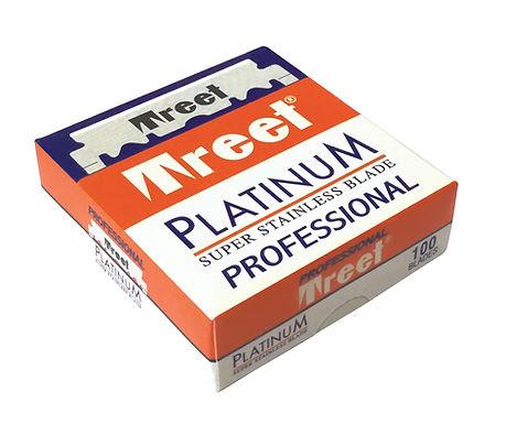 Treet Platinum Professional Single Edge Razor Blades, 100 blades