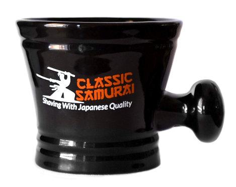 M-101 Classic Samurai Deluxe Porcelain Shaving Mug