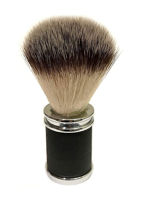 B-101BM Classic Samurai Synthetic Shaving Black Metal Handle Brush