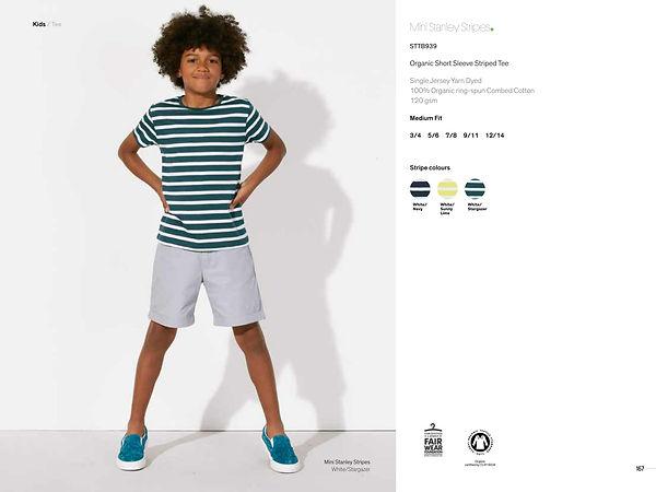 SquareNuts collection enfant mini stanley stripes