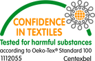 squarenuts confidence in textile logo