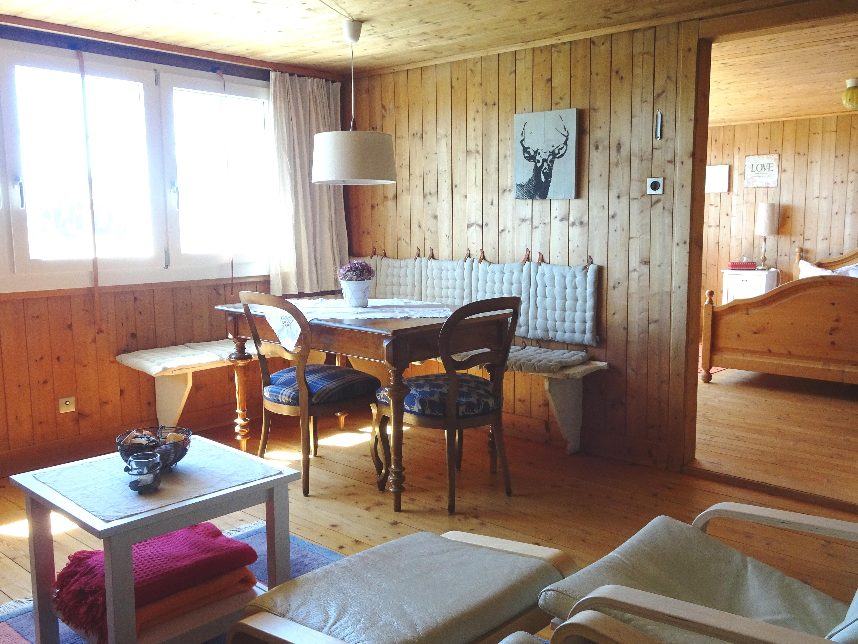 Wohnzimmer Ferienwohnung Hirschberg