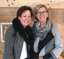 Yolanda Schuster und Monika Brenner