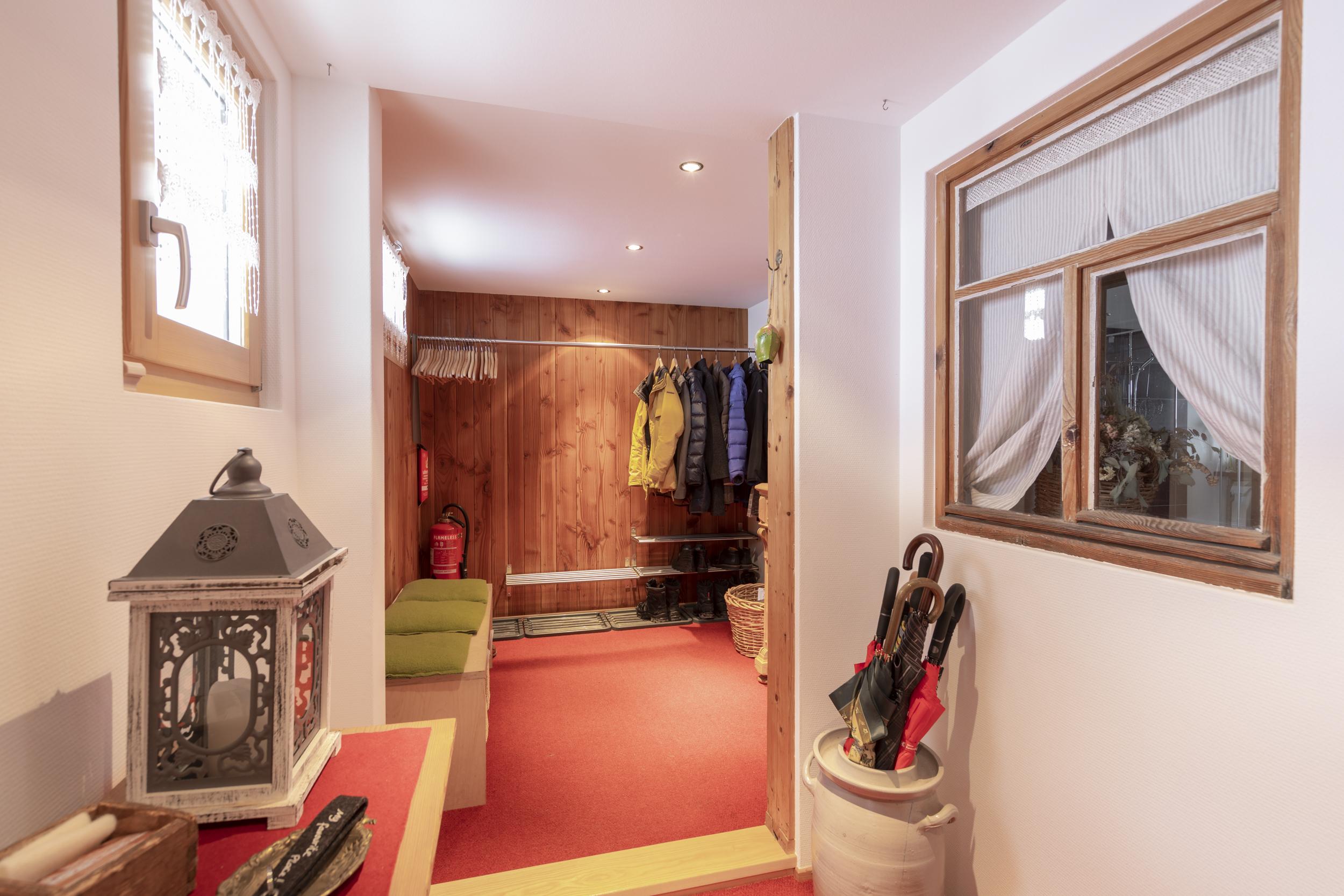 Garderobenbereich