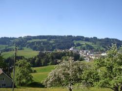 Aussicht auf Oberegg