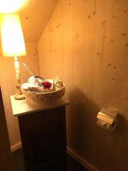 im Wohlfühl-Gäste-WC...