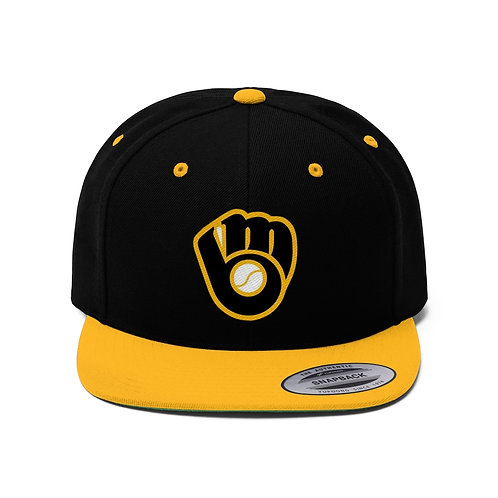 BREWERS Unisex Flat Bill Hat