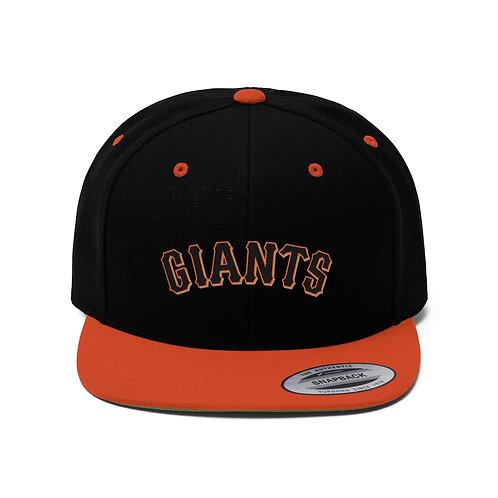 GIANTS Unisex Flat Bill Hat