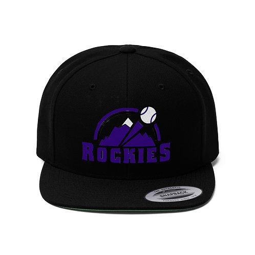 ROCKIES Unisex Flat Bill Hat