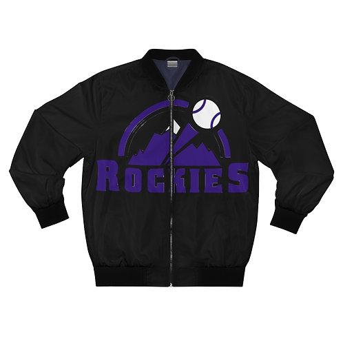 ROCKIES Men's AOP Bomber Jacket