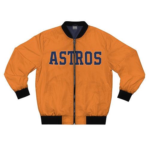 ASTROS Men's AOP Bomber Jacket