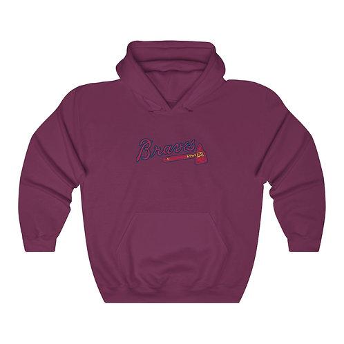 BRAVES Unisex Heavy Blend™ Hooded Sweatshirt
