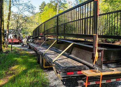 Bridge on truck arriving at location.jpg