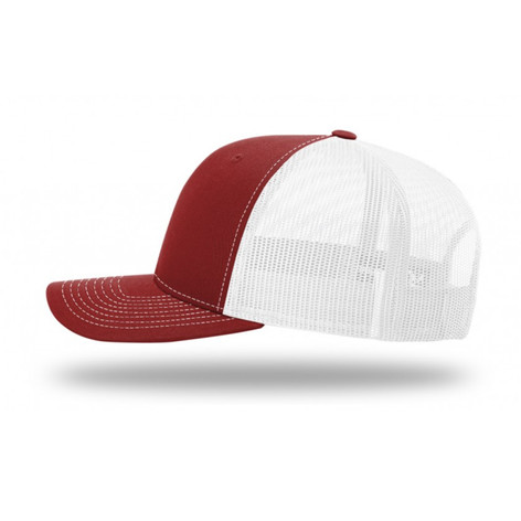 Cardinal and White Trucker