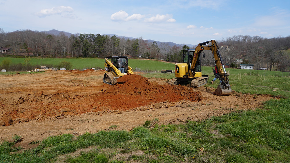 Ground Breaking Progress at Seven Springs Stone