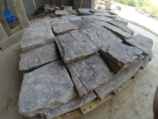 Custom Cut Stone is Now Being Delivered!