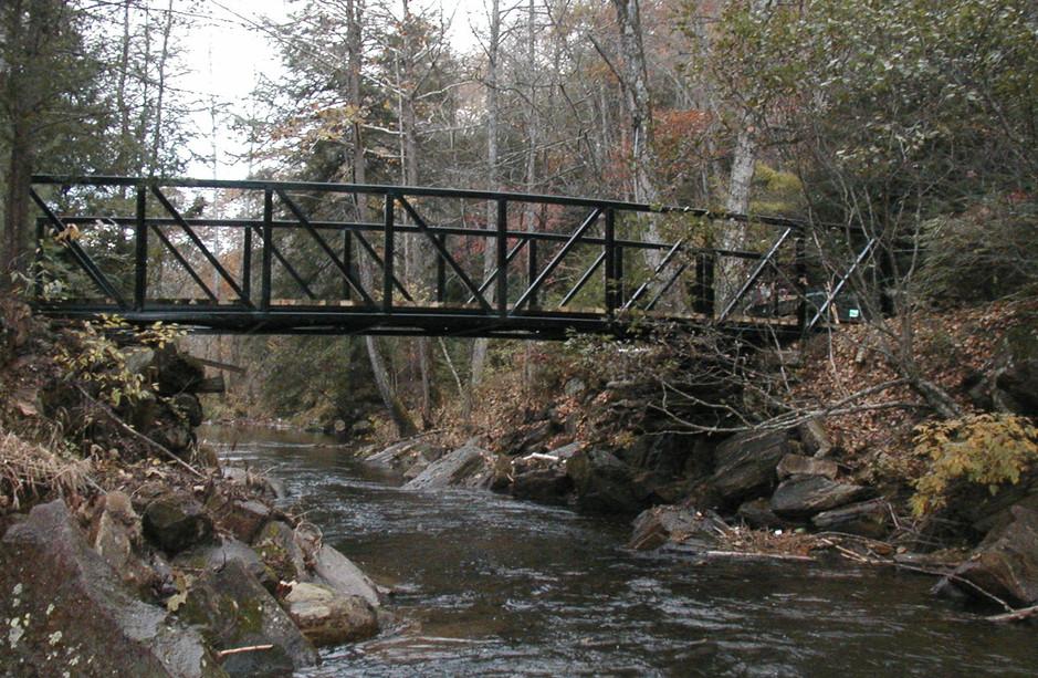 Vehicular Bridge River Crossing