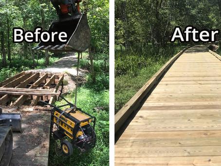 New Bridge Installations and Replacement Bridges