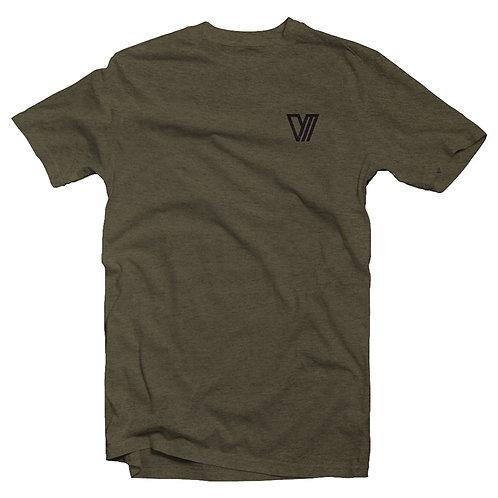Val Mooty Logo T-Shirt - Olive
