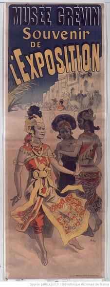 Grevin Museum. Souvenir of the Exhibition ... 1889: [poster] / [Jules Chéret]
