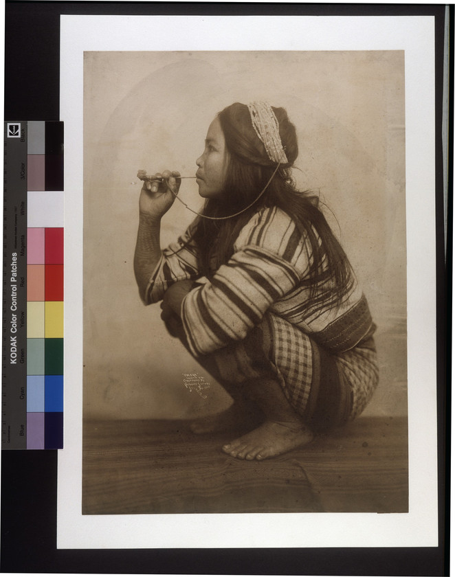 """Obleka, [Igorot Woman]."" (Taken during the 1904 World's Fair). Gerhard Sisters, photographer"